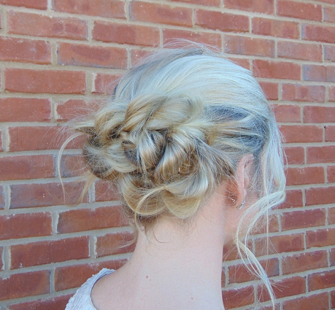 pull through braids, braids, hair ideas, stunninglysouthern, long hair, blonde hair