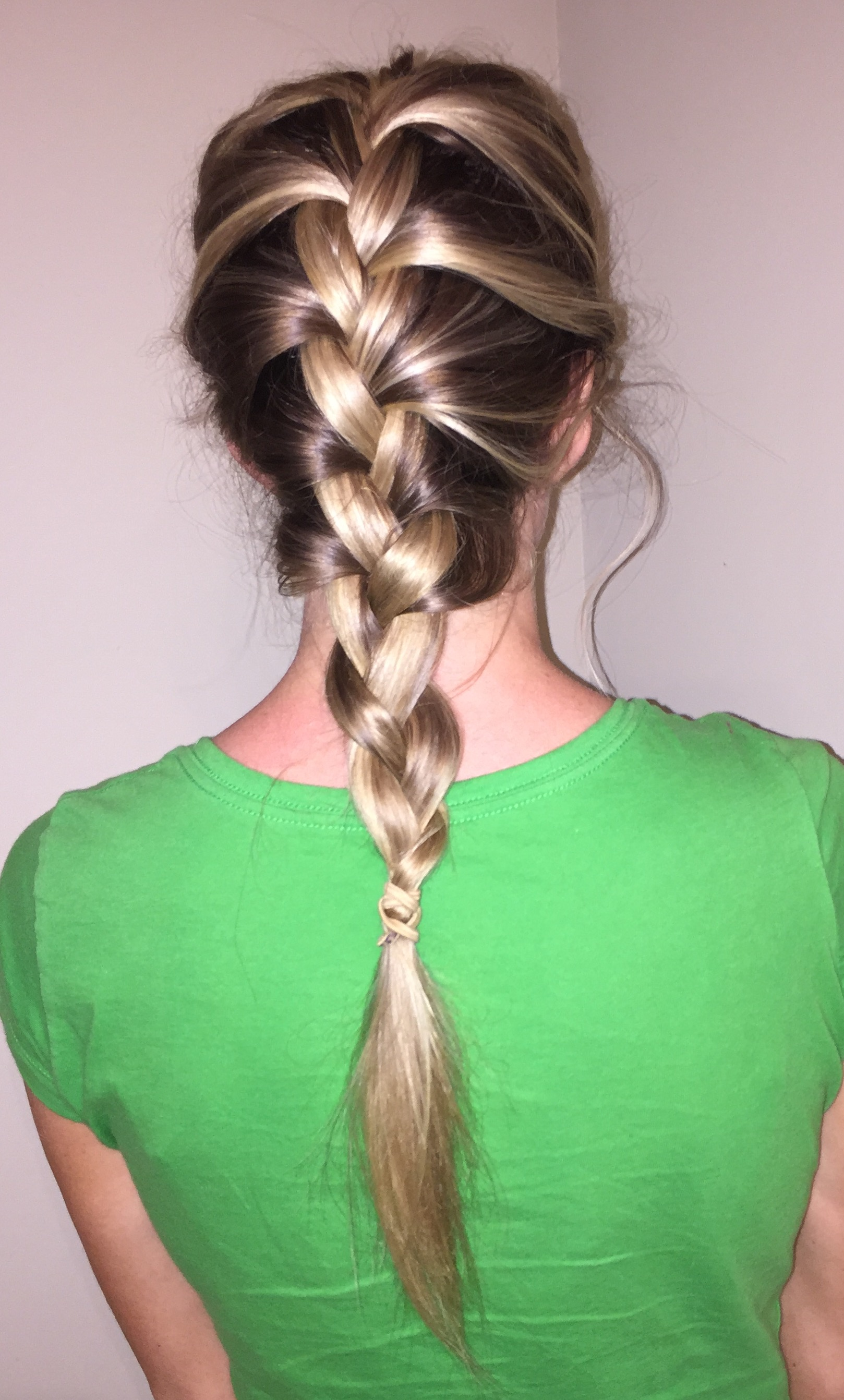 French Braid How To: Tight